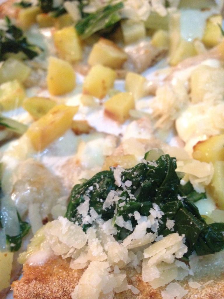 Patate, bietole, Parmigiano reggiano, fiordilatte