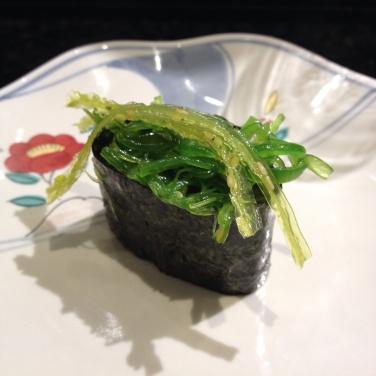 Sushi de alga