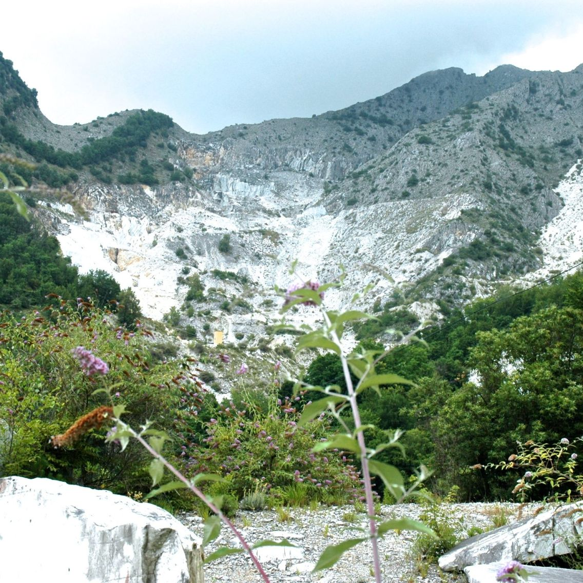 A mágica montanha de Carrara