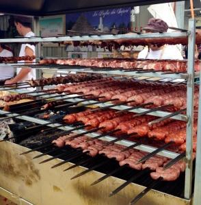 Puglia (Murge): Il Fornello della Murgia - uma profusão de espetinhos para rechear os deliciosos pães da região