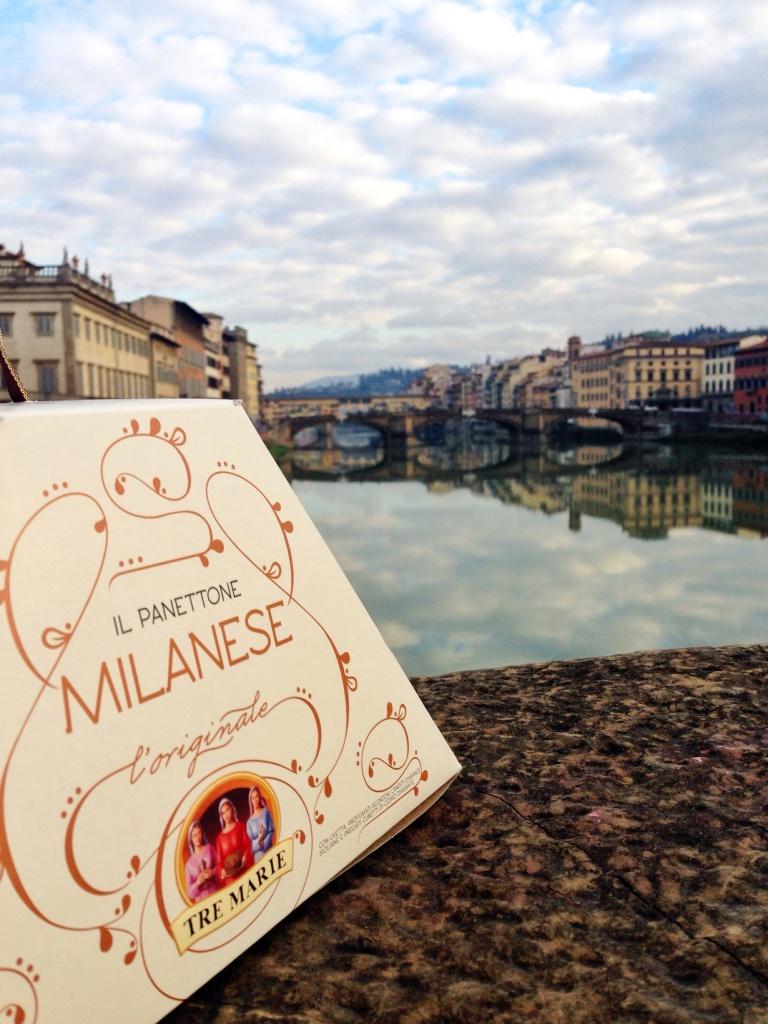 O panettone é de Milão, mas tem em todo lugar - como na linda Florença