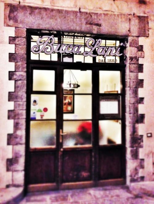 Buca Lapi, o restaurante mais antigo de Florença