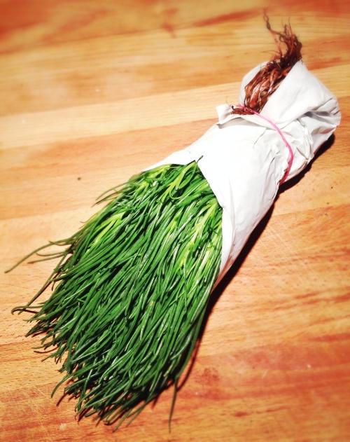 Barba de frade: Espaguete vegetal!