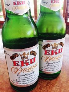 Eku, a melhor cerveja da região