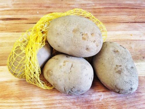 """Batata italiana (essa é organica, por isso não vem """"limpinha"""")"""
