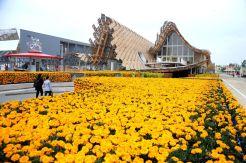 Pavilhão da China (Fonte: https://www.facebook.com/Expo2015Milano.it/)