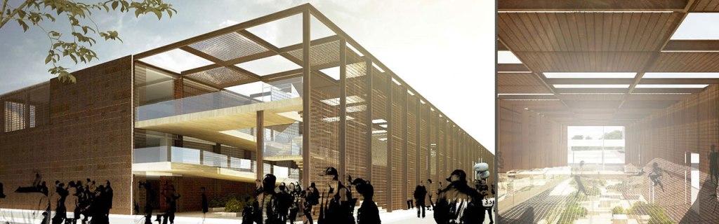 Projeto oficial do Pavilhão Brasileiro na Expo (fonte: Divulgação)
