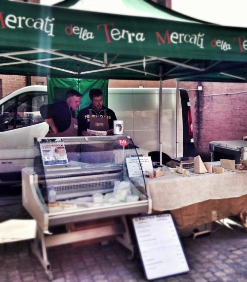 Queijos no mercado