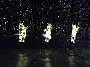 Samurais de LED que dançam!