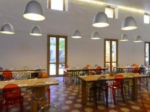 Interno Refettorio Ambrosiano (Fonte: http://www.arte.it/notizie/milano/inaugura-a-milano-il-refettorio-ambrosiano-10559)