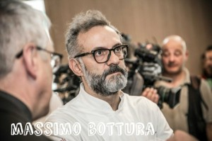Massimo Bottura, o chef numero 2 do mundo. (Fonte: http://www.scattidigusto.it/2015/06/05/video-massimo-bottura-spiega-refettorio-ambrosiano/)