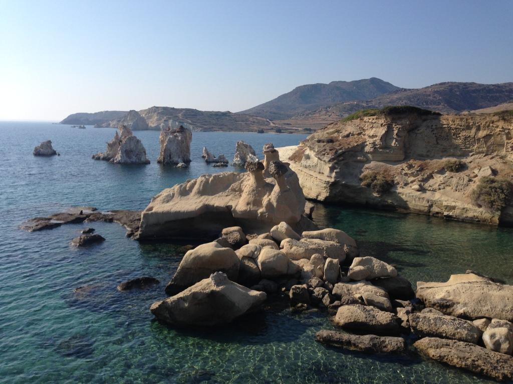 Kimolos - ilha em frente a Milos