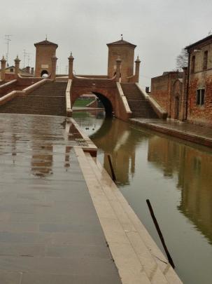 Tre Ponti, Comacchio (Foto: Simone Tortini)