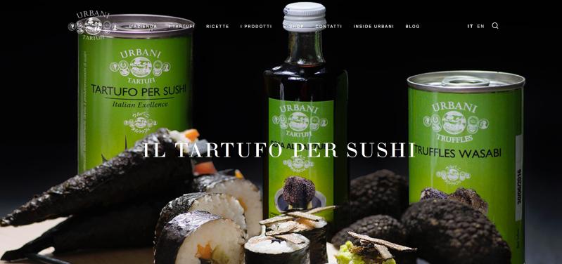 Urbani Tartufi - sushi